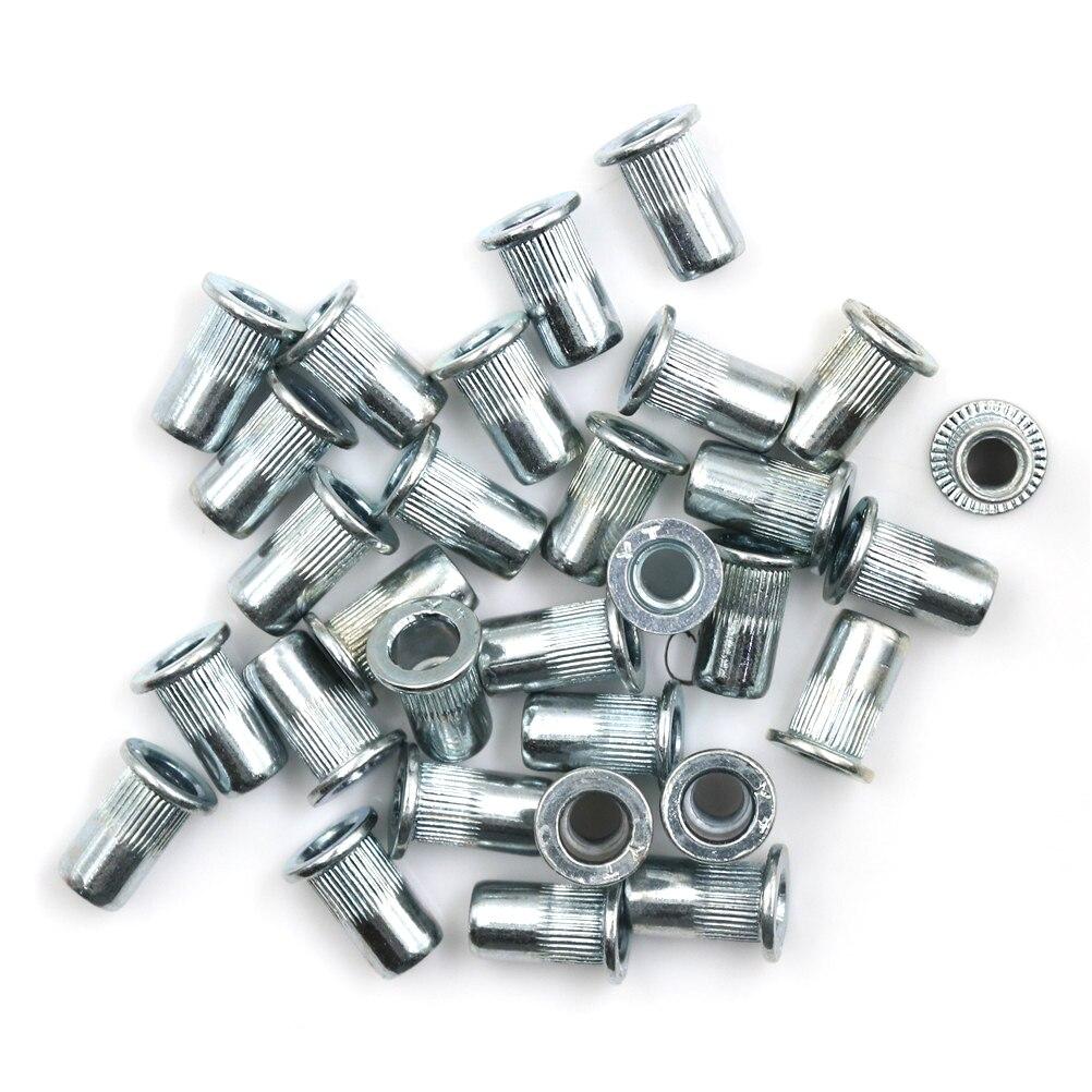 6 mm M6 Rivnuts Fraisée En Acier Inoxydable Filetés Rivet Noix Inserts NUTSERT