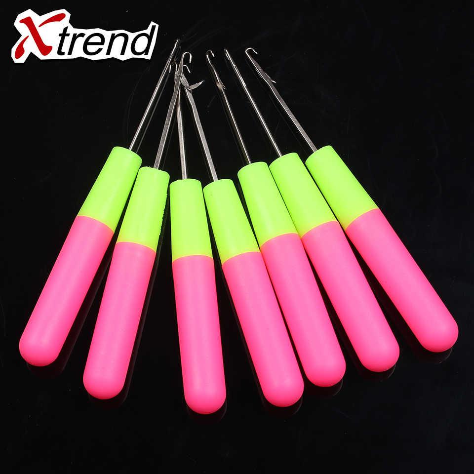 20 штук 6 дюймов высококачественные ручки крюковые иглы для скручивания прядей волос иглы для вязания крючком плетение, дредлоки, для увеличения объема, аксессуары для косичек инструменты