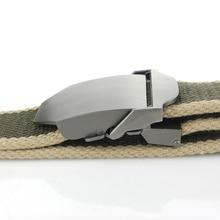 Men's Automatic Buckle Canvas Belt