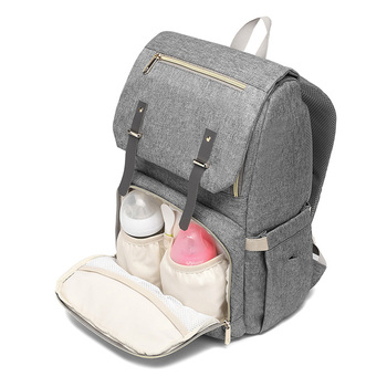 USB Charger Laptop Diaper Bag 1