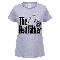 GILDAN Grey T Shirt Women Eodfather Fishinger Bait Carp Angling Homme Crewneck Short Sleeve T Shirts