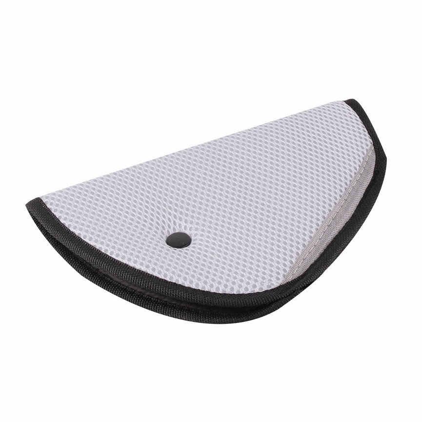 8 cor triângulo carro do bebê seguro ajustador cinto de segurança respirável protetor para crianças positioner travesseiro de carro cinto de segurança ajustador