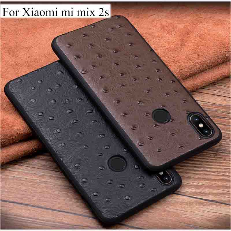Genuine Leather flip phone Case  For Xaiomi Mi Mix 2s Mi2s case back For Xiaomi MIX2s case back cover ShellGenuine Leather flip phone Case  For Xaiomi Mi Mix 2s Mi2s case back For Xiaomi MIX2s case back cover Shell