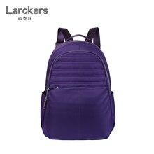 Новые женские нейлон простота мода рюкзак Твердые молния украшения softback Повседневная сумка Многофункциональный женские рюкзаки