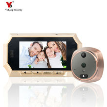 Yobang Security 4.3″Video Door Viewer Recordable/Photograph Door Eye Peephole Camera Max Support 32G SD Card door