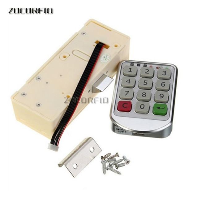 DC-6V электронный пароль шкаф дверной замок электронный кодовый замок ящик замок/замок для файлового шкафа