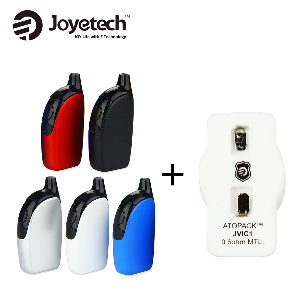 Originele 50 W Joyetech Atopack Pinguïn Kit Ingebouwde 2000 mAh Batterij 8.8 ml met 5 stks JVIC1 MTL Hoofd 0.6ohm alle in een e sigaret Kit-in Kits voor e-sigaretten van Consumentenelektronica op  Groep 1