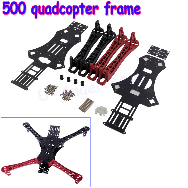 Wholesale 1pcs 500 quadcopter frame MWC X-Mode V3 Alien Multicopter Quadcopter Frame Kit for Reptile 500 Dropship wholesale 1pcs mwc multiwii standard se v2 5 flight controller for multicopter quad x gimbal dropship