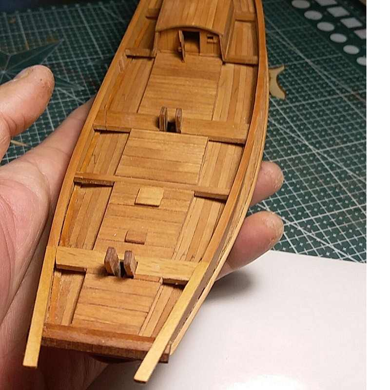 Free shipping Sacle 1/100 Hobby ship model kits Primary sailboat wooden model