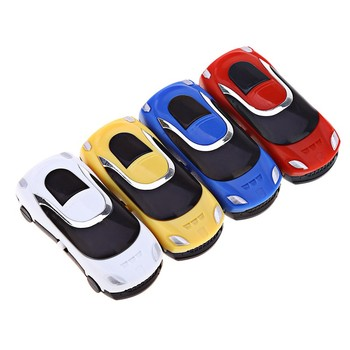 Multi Color Car MP3 Portable Car Style MP3 Music Player with TF Card Slot image