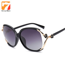 Flores gafas de Sol Polarizadas de Las Mujeres de Moda Vintage gafas de Sol para Mujeres Niñas Gafas de Diseño de Lentes de Espejo Shades Gafas De Sol