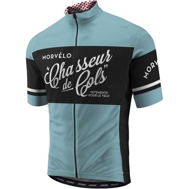 2018 morvelo Men's short sleeve cycling jerseys Cycling jerseys mtb cycle bicicleta bike only shirt cycling clothing