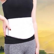 Качественный кашемировый термозащитный Поясничный пояс для поддержки поясничной части спины, зимние толстые ремни, Двойная застежка, регулируемая