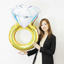 Ring Foil Valentine Balloon