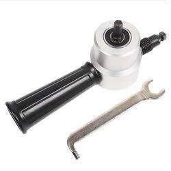 Грызть резки металла двойной головкой лист Зубастик резец инструмент дрель вложение Бесплатная режущего инструмента Ниблер вырезать из