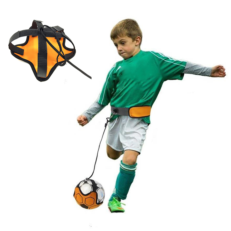 Football Trainer Football Kick Training Belt Control Adjustable Belt Child Adult Soccer Goal Trainer Equipment Dropshipping