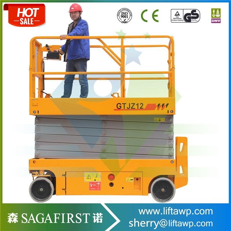Height Extendable Platform Mobile Scissor Lift