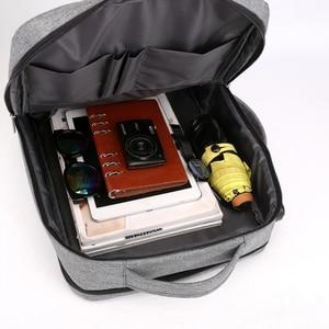 Image 5 - Mochila de viagem masculina, antirroubo 15.6 laptop Polegada bolsa masculina para notebook usb impermeável
