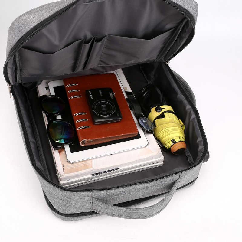 Seyahat sırt çantası erkekler Anti hırsızlık 15.6 inç dizüstü sırt çantası erkek USB dizüstü iş büyük sırt çantaları su geçirmez gençler çanta
