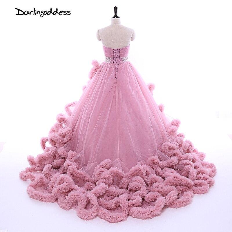 Excepcional Vestidos De Novia Largo Del Tren Ideas Ornamento ...