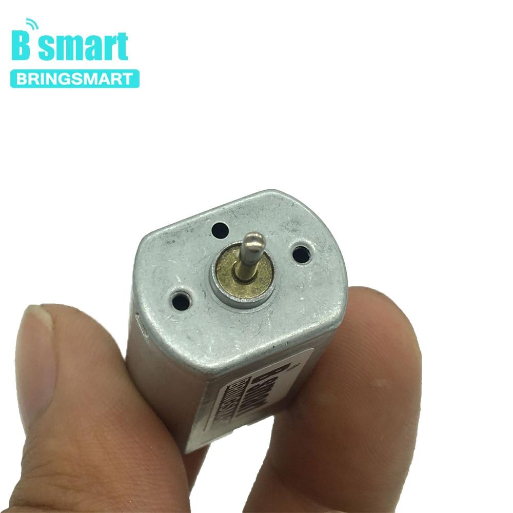 Bringsmart Micro DC Motor High Speed 8100rpm 1-6V Mini Motor for Toys Electric Razor Toothbrushes Hair Clipper DIY.etc, FF-180PH