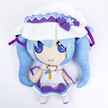 Anime VOCALOID Hatsune Miku Soft Stuffed Plush Toy Snow Miku Plush Doll Gift 33cm