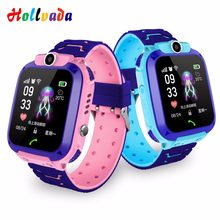 Hollvada Newest Waterproof Kid Smart Watches Baby Watch for Children SOS Call Location Finder Locator Tracker Anti Lost Monitor(China)