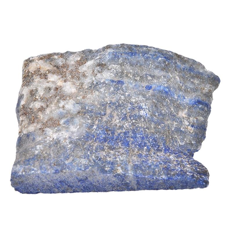 100 g/saco Natural Blue Lapis Lazuli Bruto de Cristal de Pedras Preciosas em Bruto Da Índia Estilo folk-custom Único Espécime Mineral Pedra