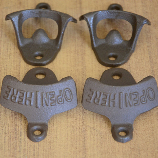 Wall Mounted Antique Style Bottle Opener 2