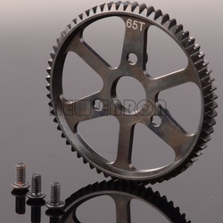 NEW ENRON #3960 1:10 RC Steel 65T Spur Main Gear 65-tooth 0.8 Mod For Traxxas 1/10 SUMMIT 56076-4 E-Maxx E-REVO 5603 5605 5608