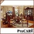 Новая классическая столовая мебель деревянная резьба обеденный стол наборы