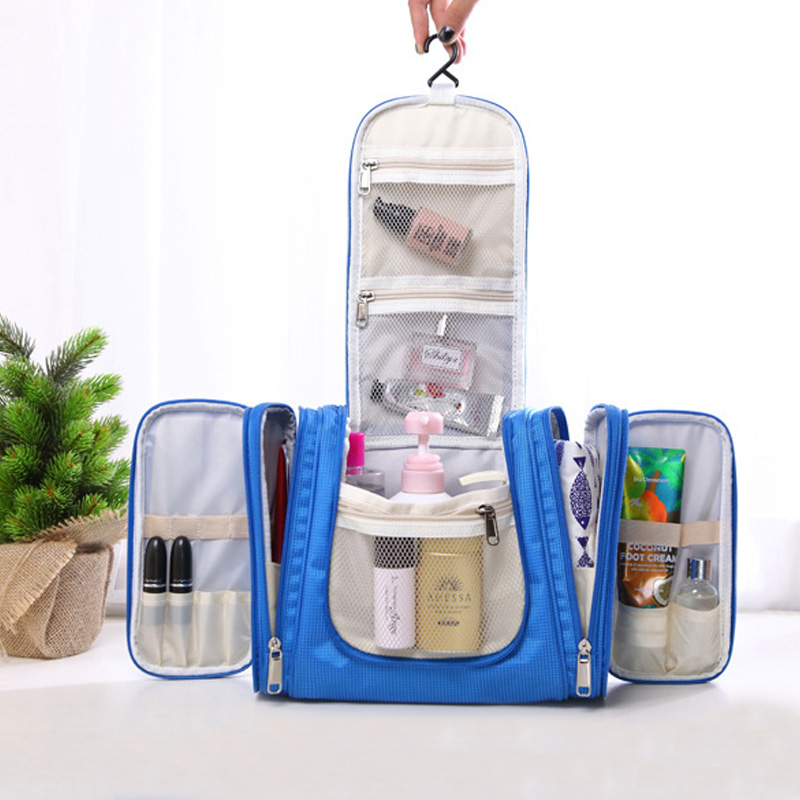 Nouveau voyage hommes organisateur sacs à cosmétiques quotidien essentiel Portable crochet maquillage poche marque multifonctionnelle femme trousse de toilette - 3