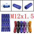 EE support Lot20 For HONDA ACURA CIVIC ACCORD JDM D1 Spec Wheel Lug Nuts M12 X1.5MM W8 Six Colors Sale XY01