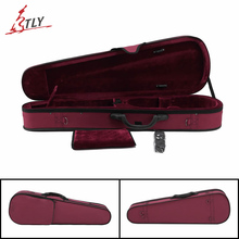 High Quality Oxford Fabric Triangle Violin Case 4/4 3/4 1/2 1/4 w/ Belt Violino Violin Professional Accessories Free Shipping
