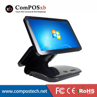15.6 Cash Register/Billing Machine/Epos System Windows 7 Test Version OS Point Of Sale All In One Grey For Retail Shop