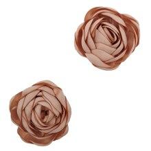 100pcs/lot 2 2Colors Simulated Fabric Ranunculus Flowers DIY Handmade Baby Girls Headband Accessories Kidocheese