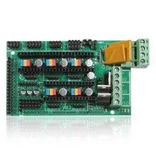 Best продвижение 3D-принтеры Управление Лер доска F. ПЛАТФОРМЫ 1.4 для RepRap mendel для Prusa для Arduino новые печати аксессуар