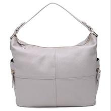 Woman Bucket Handbags Travel Fashion Brand New Designer Black Solid Color Shoulder Messenger Bag For Women Cow Leather Lady Bags