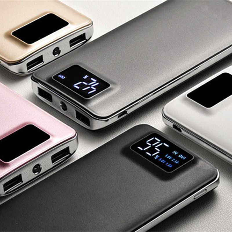 2019 جديد قوة البنك 30000mAh ل شياو mi mi 2 USB شاحن محمول متنقل بطارية خارجية Poverbank ل فون 7 6 5 4X8