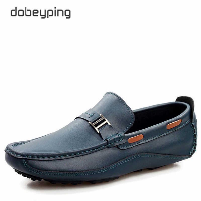 New Brand Men Loafers Shoes Top Genuine Leather Driving Shoe Man Fashion Casual Moccasins Flats Man's Slip On Sapato Masculino hot high quality men loafers leather round toe slip on casual shoes man flats driving shoes hombre zapatos comfortable moccasins