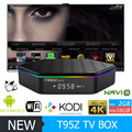 Mais novo T95Z Além de S912 Amlogic CAIXA de TV Android 2 GB 16 GB Mídia jogador 2.4G & 5G wifi dual Gigabit Lan BT4.0 Android 6.0 smart tv caixa