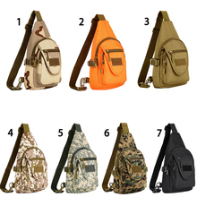 Outdoor Tactical Backpack Military Sport Pack Shoulder Backpack for Camping Hiking Treking Rover Sling Pack Chest
