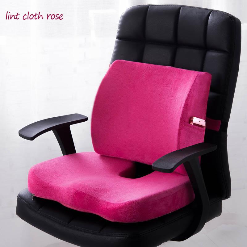 HTB1q8AtPrPpK1RjSZFFq6y5PpXaM Car Seat Cushion Mat Coccyx Orthopedic Memory Foam Chair Massage Mat Back Cushion Pad Office Nap Therapy Callipygian Cushion