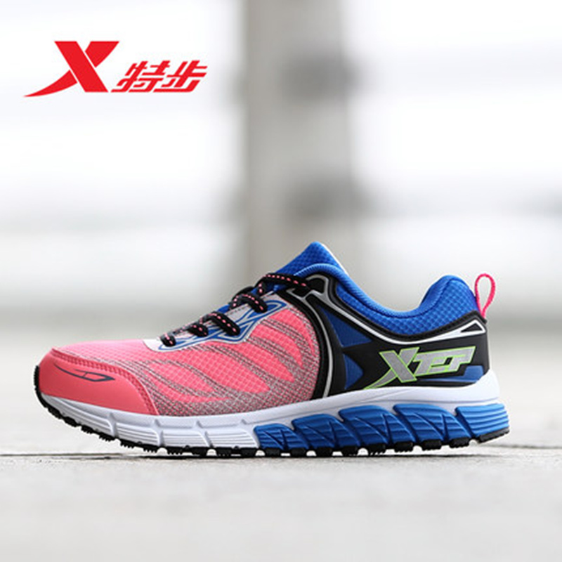 XTEP 2016 Breathable Running Shoes for Women Light Weight Mesh Trainers Shoes Athletic Shoes Women's Sport Sneakers 984218119585