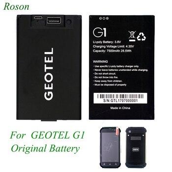 スマートフォンのバッテリーのための Geotel G1 、オリジナル GEOTEL g1 携帯電話バッテリー 7500 mah 、ポータブルバッテリ電源として使用可能