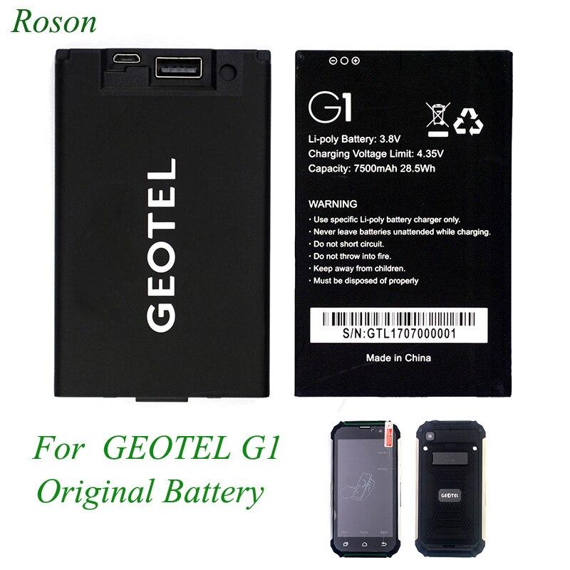 Smartphone סוללה עבור Geotel G1, מקורי GEOTEL g1 טלפון נייד סוללה 7500 mah, שמיש כמו נייד סוללה כוח