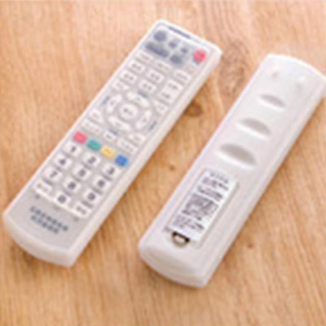 Waterproof Silicone Storage Bags TV Remote Control Dust Cover Protective Holder Organizer Home transparent Accessory