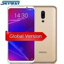 Meizu 16 Küresel Sürüm 6 GB RAM 64 GB ROM Smartphone Snapdragon 710 Octa Çekirdek 6.0