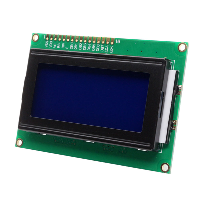 Glyduino <font><b>1604</b></font> 16x4 <font><b>1604</b></font> Character LCD Display Module with Blue Backlight Color image