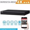 Dahua 16 canais 1u 4 k & h.265 pro gravador de vídeo em rede NVR5216-4KS2 visualização resolução Máxima de até 12Mp Resolução 3840*2160